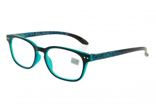 """очки готовые """"Airstyle"""" RFC 247 (пластик) голубой"""
