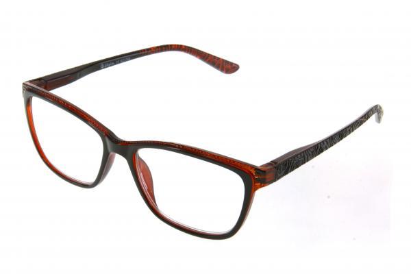 """очки готовые """"Airstyle"""" KC-1703 (пластик) коричневый"""