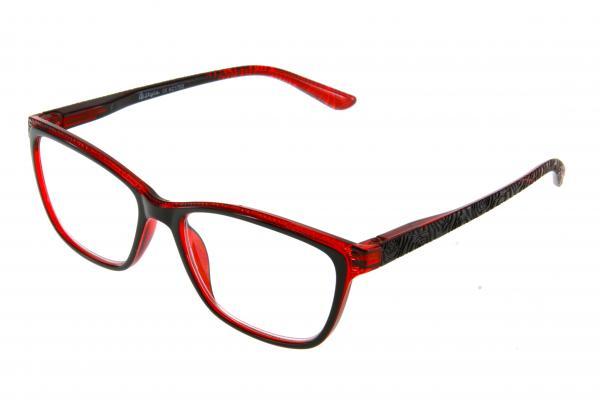 """очки готовые """"Airstyle"""" KC-1703 (пластик) красный"""