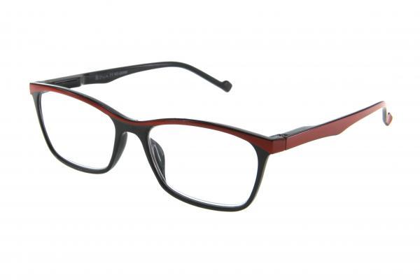 """очки готовые """"Airstyle"""" KC-20096 (пластик) черно/красный"""