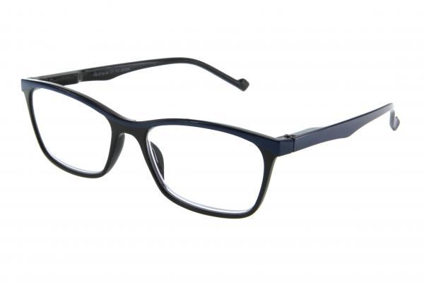 """очки готовые """"Airstyle"""" KC-20096 (пластик) черно/синий"""