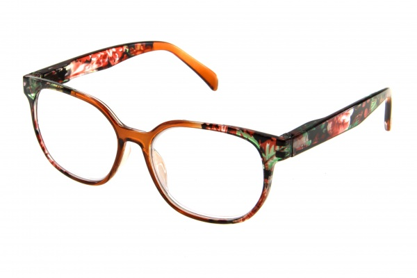 """очки готовые """"Airstyle"""" RFC 1178 (пластик) коричневый"""