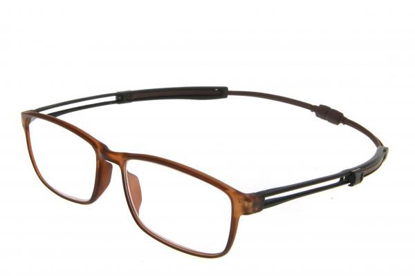 """очки готовые """"Airstyle"""" RFC 1184 (пластик) коричневый"""