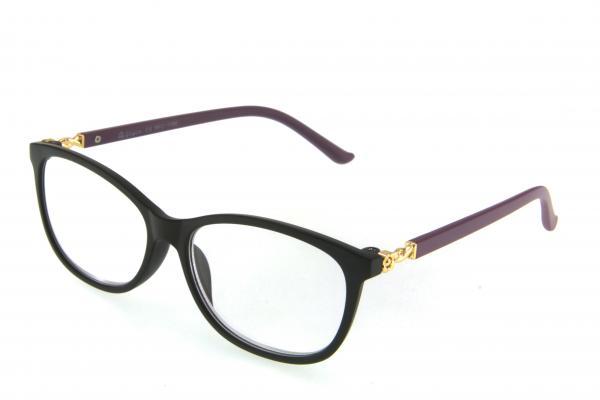"""очки готовые """"Airstyle"""" RFC 1186 (пластик) черный"""