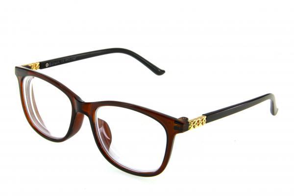 """очки готовые """"Airstyle"""" RFC 1187 (пластик) коричневый"""