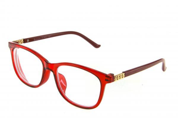 """очки готовые """"Airstyle"""" RFC 1187 (пластик) красный"""