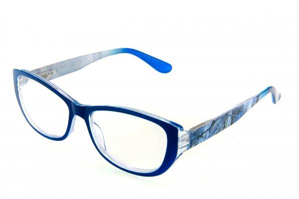 """очки готовые """"Airstyle"""" RFC 1189 (пластик) голубой"""