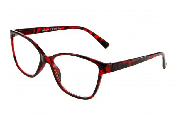 """очки готовые """"Airstyle"""" RFC 1194 (пластик) красный"""