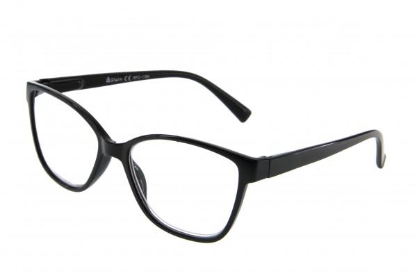"""очки готовые """"Airstyle"""" RFC 1194 (пластик) черный"""