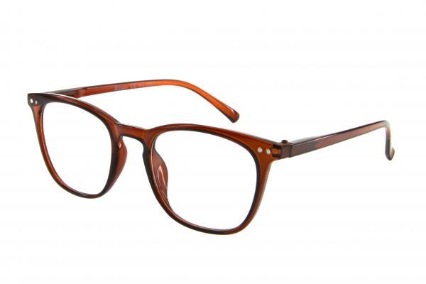 """очки готовые """"Airstyle"""" RFC 1219 (пластик) коричневый"""