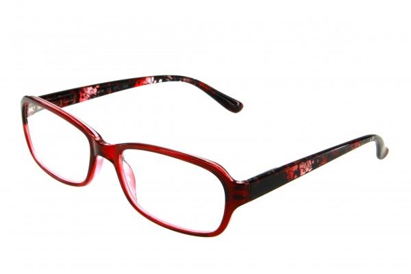 """очки готовые """"Airstyle"""" RFC 534 (пластик) красный"""