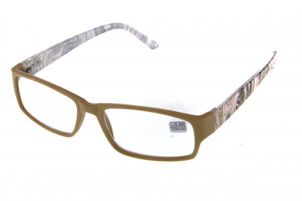 "очки готовые ""Airstyle"" RFC-309 бежевый (пластик)"