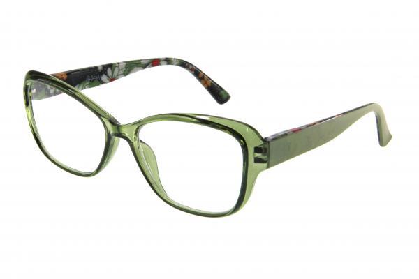 """очки готовые """"Airstyle"""" RP3933 (пластик) зелёный"""