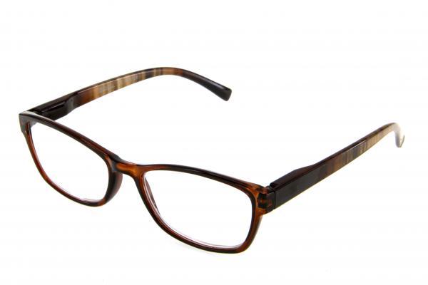 """очки готовые """"Airstyle"""" RP5128 (пластик) коричневый"""