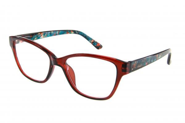 """очки готовые """"Airstyle"""" RP5215 (пластик) черно/красный"""