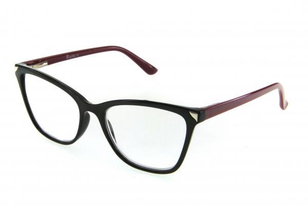 очки готовые RA 0629 L c2 (пластик) черный