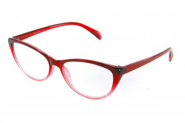 очки готовые RA 0706 GL c1 (пластик) бордо