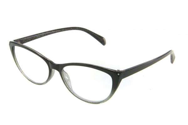 очки готовые RA 0706 GL c2 (пластик) черный