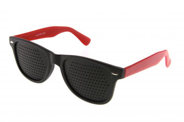 Очки тренажёры MATSUDA M8083 c2 (черно/красный)