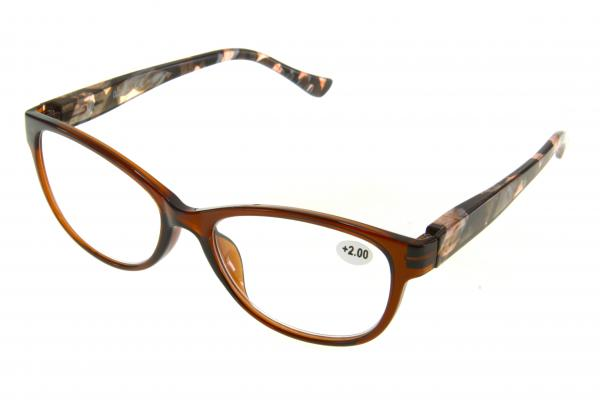 """очки готовые """"Airstyle"""" KC-1218 (пластик) коричневый"""
