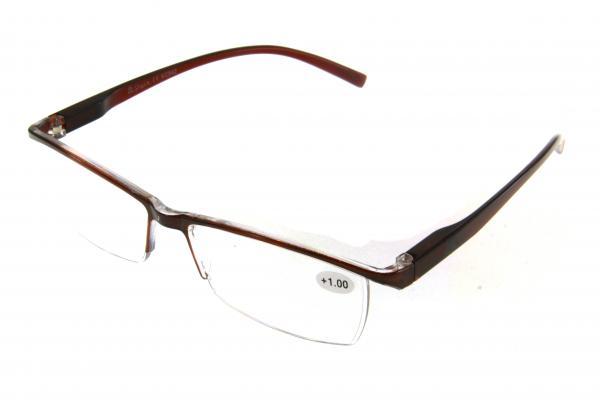 """очки готовые """"Airstyle"""" KC-842 (пластик) коричневый"""