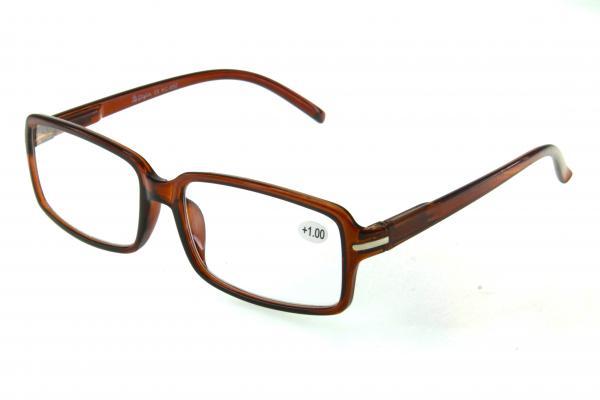 """очки готовые """"Airstyle"""" KC-850 (пластик) коричневый"""