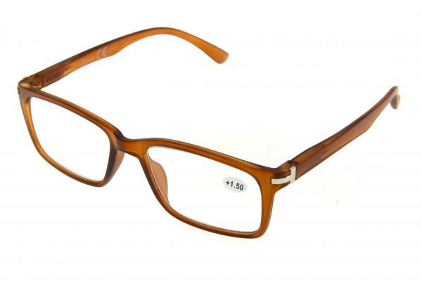 """очки готовые """"Airstyle"""" KC-873 (пластик) коричневый"""