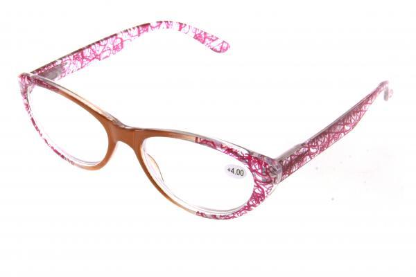 """очки готовые """"Airstyle"""" KC-912 (пластик) коричневый"""