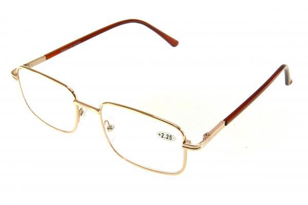 """очки готовые """"Airstyle"""" KC-9280 (металл) золото"""