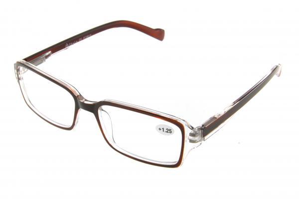 """очки готовые """"Airstyle"""" KC-9815 (пластик) коричневый"""