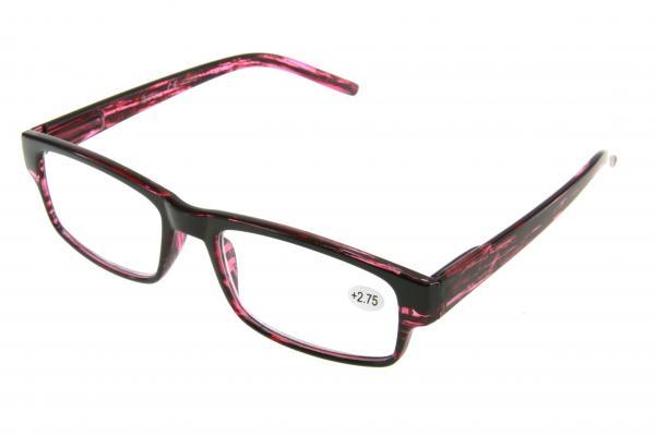 """очки готовые """"Airstyle"""" KC-986 (пластик) черно/розовый"""