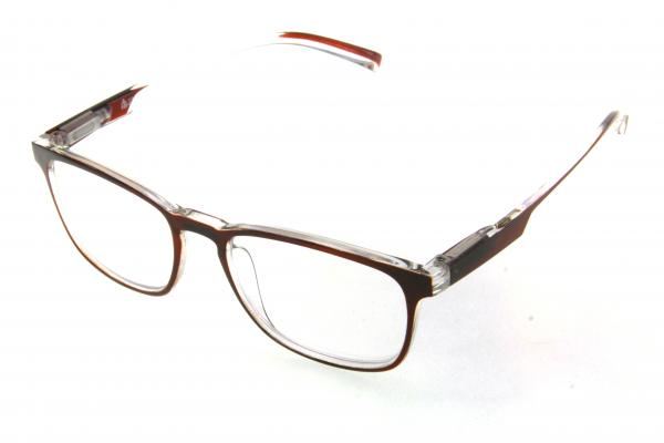 """очки готовые """"Airstyle"""" RFC 1007 (пластик) коричневый"""