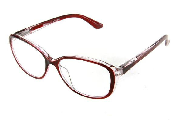 "очки готовые ""Airstyle"" RFC 1018 (пластик) бордо"