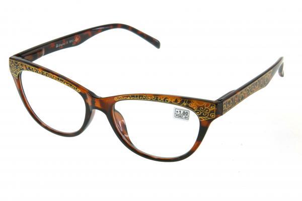 """очки готовые """"Airstyle"""" RFC 121 (пластик) коричневый"""