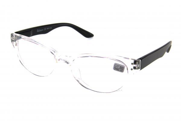 """очки готовые """"Airstyle"""" RFC 173 (пластик) прозрачно/черный"""
