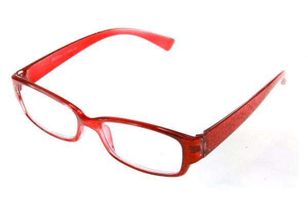 """очки готовые """"Airstyle"""" RFC 761 (пластик) красный"""