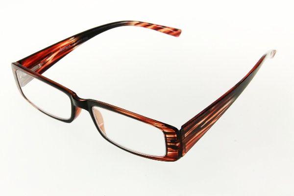 """очки готовые """"Airstyle"""" RFC 958 (пластик) коричневый"""