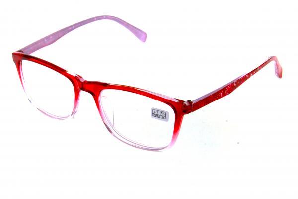 """очки готовые """"Airstyle"""" RFC 764 (пластик) красный"""