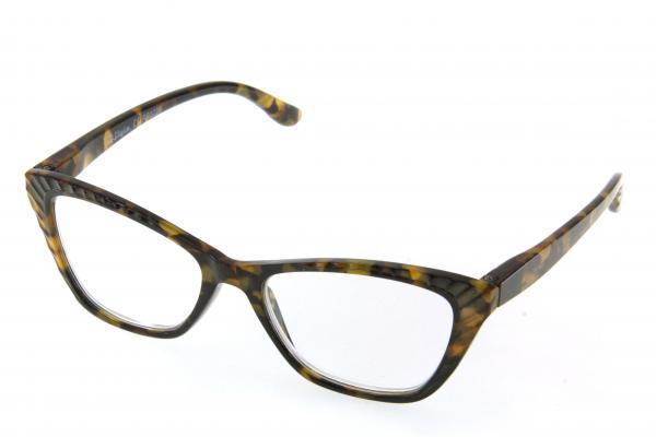 """очки готовые """"Airstyle"""" RP3226 (пластик) коричневый"""