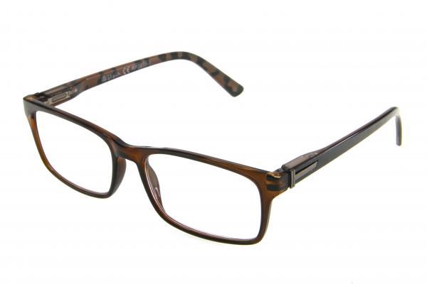 """очки готовые """"Airstyle"""" RP3915-1 (пластик) коричневый"""