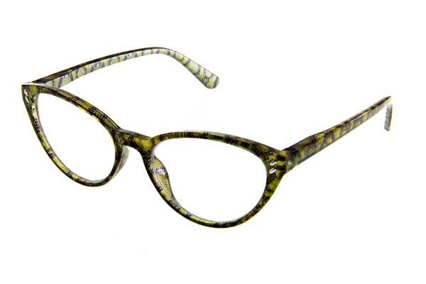 """очки готовые """"Airstyle"""" RP5178 (пластик) зелёный"""