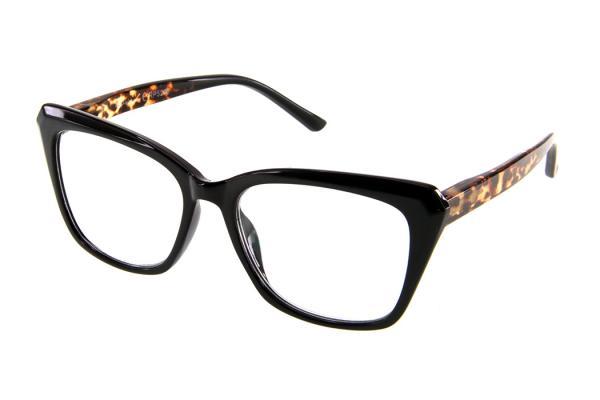 """очки готовые """"Airstyle"""" RP5208 (пластик) черно/коричневый"""