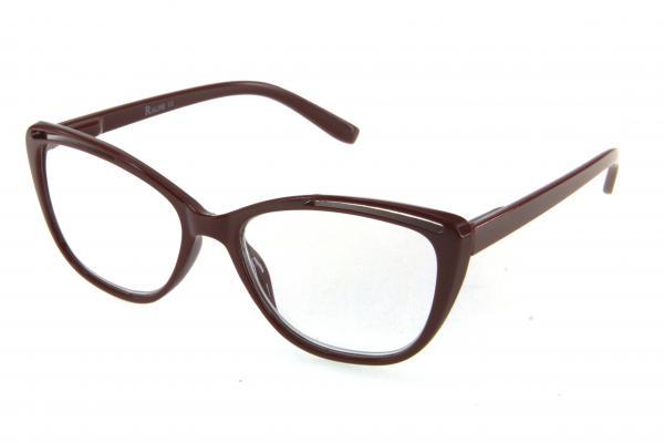 очки готовые RA 0669 L c1 (пластик) бордо