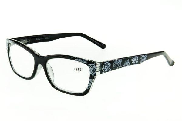 """очки готовые """"Airstyle"""" CRP 414 (пластик) черный"""