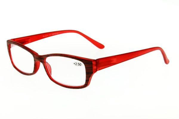 """очки готовые """"Airstyle"""" CRP 537-9 (пластик) красный"""