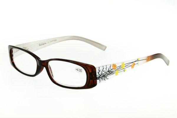 """очки готовые """"Airstyle"""" LR-P 1326 (пластик) коричневый"""