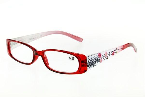 """очки готовые """"Airstyle"""" LR-P 1326 (пластик) красный"""
