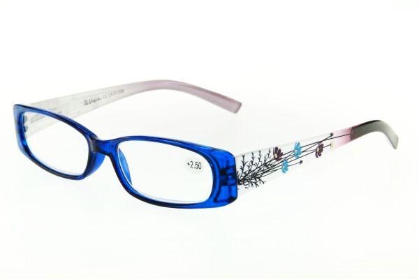 """очки готовые """"Airstyle"""" LR-P 1326 (пластик) синий"""