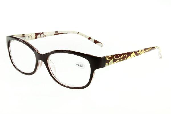 """очки готовые """"Airstyle"""" LR-P 2656 (пластик) коричневый"""