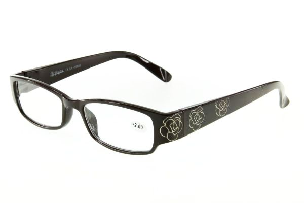 """очки готовые """"Airstyle"""" LR-P 2843 (пластик) коричневый"""